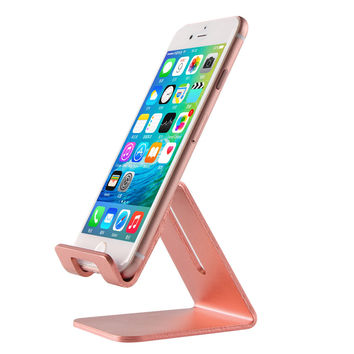 Luxury Universal Aluminum Stand Holder For iphone 7 6 6S Plus SE For Samsung For Huawei For Xiaomi For Ipad Tablet PC Flexiable