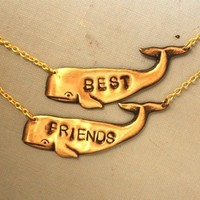 Best Friends Necklace by iadornu on Etsy