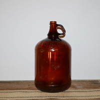 Vintage Bottle Amber Glass Bottle Vintage Amber Apothecary Jar Glass Bottle Vases Wedding Decor