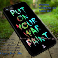 Fall Out Boy Put On Your War Paint iPhone 6s 6 6s+ 5c 5s Cases Samsung Galaxy s5 s6 Edge+ NOTE 5 4 3 #music #fob dt
