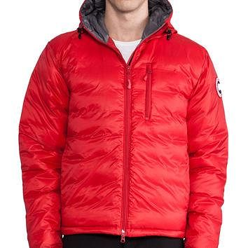 Canada Goose Lodge Hoody in Red