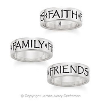 Faith, Family and Friends Band from James Avery