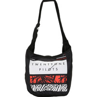 Twenty One Pilots Rectangles Hobo Bag