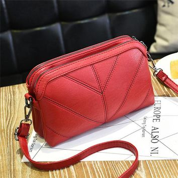 Women Messenger bag quality soft  Women's shoulder bag Mother gift Crossbody Bags