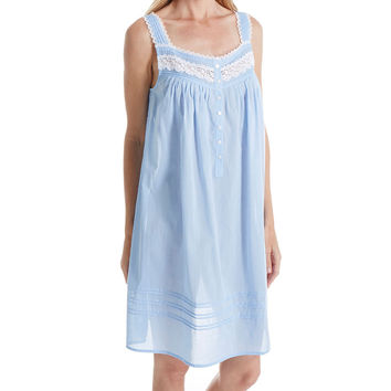 Eileen West 5316048 Short Nightgown 100% Cotton