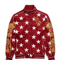 STARS TRACK JACKET - RED