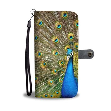 Peacock Phone Wallet Case