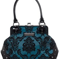 GG ROSE MISTRESS KISSLOCK PURSE BAYOU BLUE