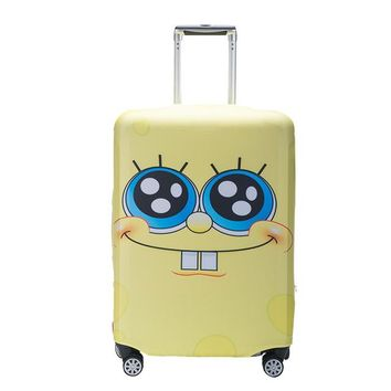 Cartoon Luggage Cover Travel Trolley Suitcase Student Kid Protective Suitcases Cover Travel Accessories 18-32 Inch