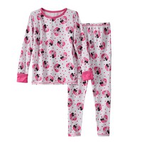 Disney's Minnie Mouse Comfortech Long Underwear Set by Cuddl Duds - Toddler Girl, Size: