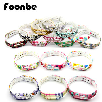 FOONBE Silicone Replace Strap For Xiaomi Mi Band 1S 1A Smart Wristband for Xiaomi Bracelet Belt Wearable Accessories