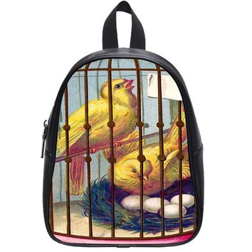 Bird Cage School Backpack Large