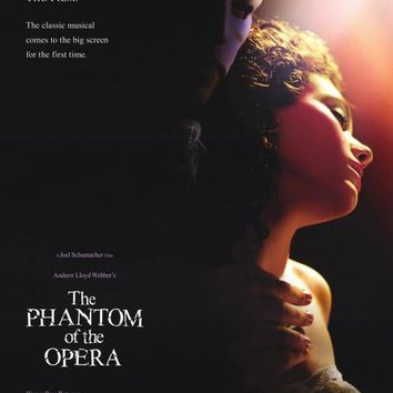 The Phantom of the Opera 27x40 Movie Poster (2004)