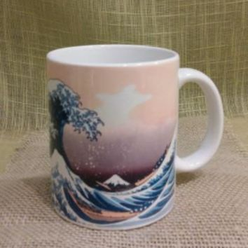 Japanese Hokusai Woodblock Print Tea Mugs - Assorted Styles