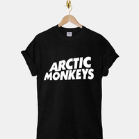 Arctic Monkey DTG ScreenPrint 100% pre-shrunk cotton for t shirt mens and t shirt woman at kahitna