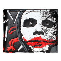 "The Joker (The Dark Knight) Bi-fold Wallet ""Why So Serious?"""
