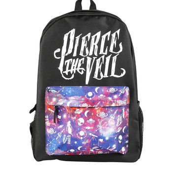 Pierce The Veil Galaxy Pocket Backpack