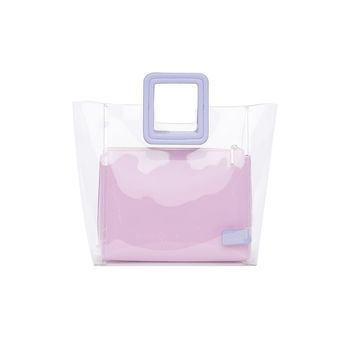 Staud The Webster X Staud Shirley Bag - Pink Calf Leather Bag