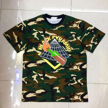 Men's Black Pyramid camo T-Shirt