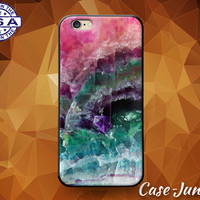 Quartz Crystal Rock Pink Purple Aqua Pastels Tumblr Case iPhone 5/5s and 5c and iPhone 6 and 6+ and iPhone 6s and iPhone 6s Plus iPhone SE