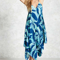 Swim Foliage Cover-Up Dress