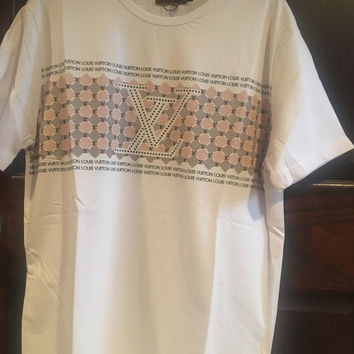 Mens LV Monogram T-Shirt