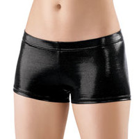 Metallic Dance Booty Shorts; Balera