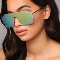 Take A Look At What You Did Sunglasses - Yellow