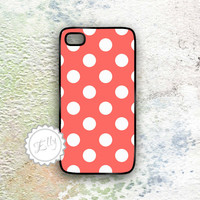 IPhone Case Polka Dots Cute Pattern.. on Luulla