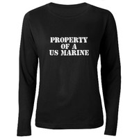 Property of a US Marine T-Shirt on CafePress.com