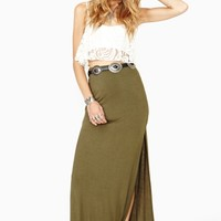 Way Side Maxi Skirt