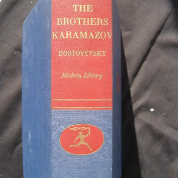 Vintage Modern Library by Random House The Brothers Karamazov by dostoyevsky hardcover, no dust jacket