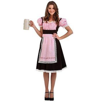 Bavarian Beer Maid Halloween Costume