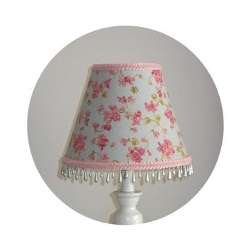 Cherry Blossom Shabby Chic Lamp Shade