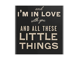 One Direction Little Things Lyrics