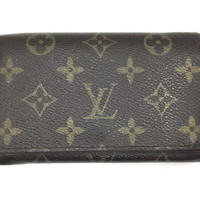 Louis Vuitton Monogram Portefeuille Tresor Bifold Wallet M61736 Auth F/S Japan