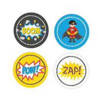 Super Hero Stickers (Set of 32)