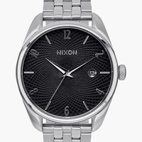 Nixon Bullet Watch Black/Silver One Size For Men 25838414501