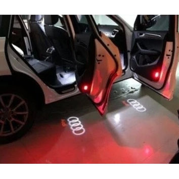 Light Shadow Projector Car Door Courtesy Laser for Audi A4A6A8Q7 2 LED [8270427073]