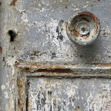 Rustic decor, primitives country decor, weathered paint, vintage, wall art 5x7 (13x18) fine art photography