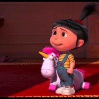 Agnes and Unicorn Despicable Me 2 HD Wallpapers 2013