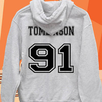louis tomlinson 91 date of birth one direction Pullover hoodies Sweatshirts for Men's and woman Unisex adult more size s-xxl at mingguberkah