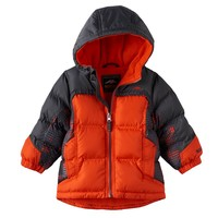 Pacific Trail Colorblock Hooded Puffer Jacket - Toddler Boy, Size: