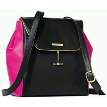 Juicy Couture Hot Pink and Black Backpack
