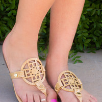 Keep Cool Sandals - Taupe