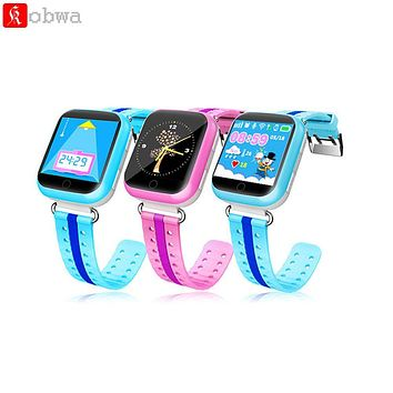 Smart Watch Q750 Baby Watch GPS Wifi LBS Location Device Tracker 1.54 inch Touch Screen SOS Call for Kid Safe Anti-Lost Monitor