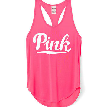 new authentic lace up in cheap for sale Racerback Tank - PINK - Victoria's Secret from VS PINK