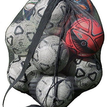 Keeble Outlets Drawstring Mesh Ball Bag With Shoulder Strap 30 x 40 Inches