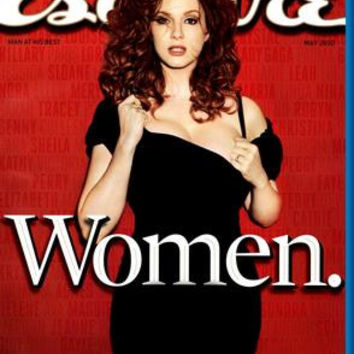 Christina Hendricks Esquire Magazine Cover Poster 24inx36in