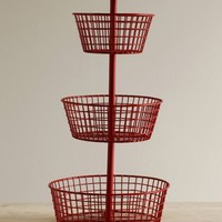 Three Tier Wire Basket - Two Colors Available